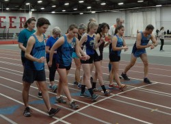 Start of the 2nd Annual Knatt 1 Mile  Indoor Championship