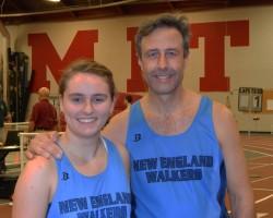 2015 Knatt 1 Mile Champions, Maegan Allen and Ed O'Rourke