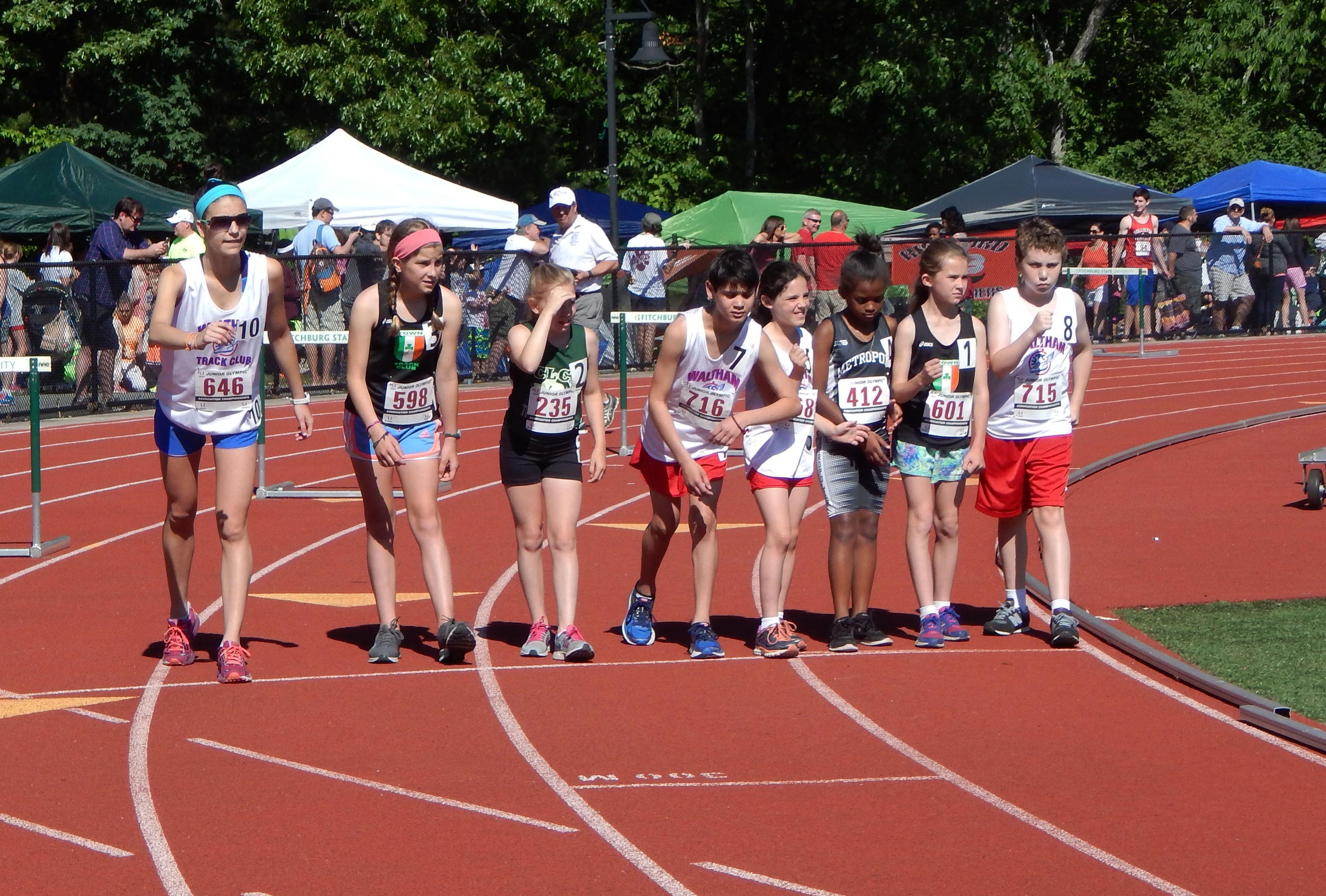 2016 USATF-NE Junior Olympic 1500m Race Walk
